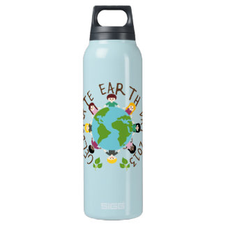 Celebrate Earth Day 2013 Insulated Water Bottle