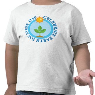 Celebrate Earth Day Every Day T-shirt Gift
