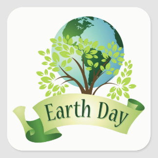 CELEBRATE! Earth Day Stickers