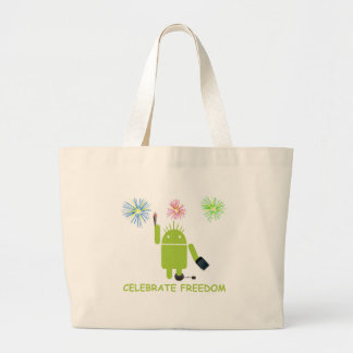 Celebrate Freedom Android Software Developer Tote Bags