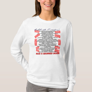 Celebrate Freedom!  Read a BANNED Book! (stamp) T-Shirt