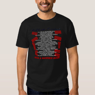 Celebrate Freedom!  Read a BANNED Book! (stamp) Tshirts