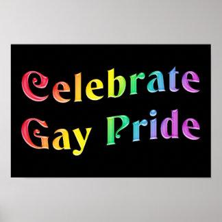 Celebrate Gay Pride Poster