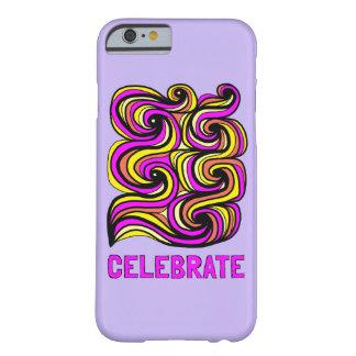 """Celebrate"" Glossy Phone Case"