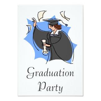 Celebrate graduation 13 cm x 18 cm invitation card