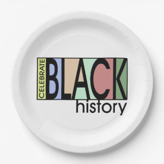 Celebrate History BHM Party Paper Plates