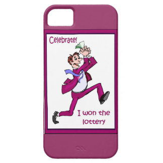 Celebrate! I won the lottery! iPhone 5 Cover