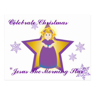 Celebrate Jesus Morning Star-Customize Post Card