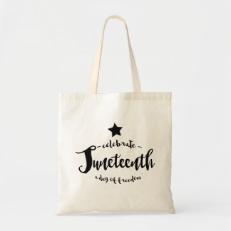 Celebrate Juneteenth Star Tote Bag