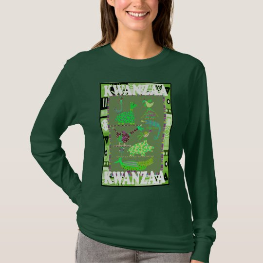 Celebrate Kwanzaa,animals of africa T-Shirt