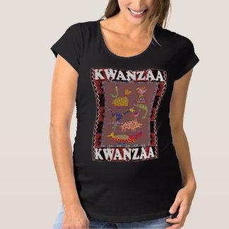Celebrate Kwanzaa, Favourite animals Maternity T-Shirt