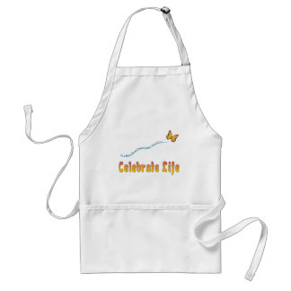Celebrate Life Butterfly Adult Apron