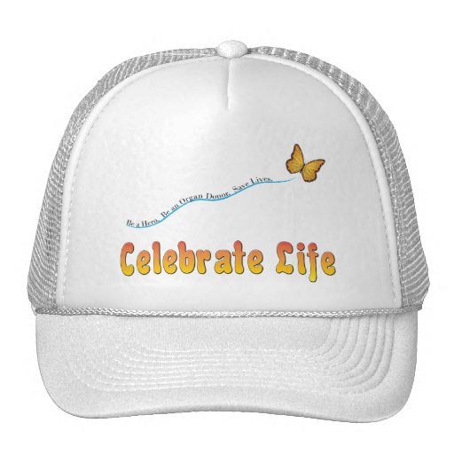 Celebrate Life Butterfly Hats