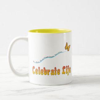 Celebrate Life Butterfly Mugs