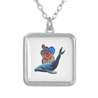 Celebrate Life Silver Plated Necklace