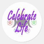 Celebrate Life Stickers