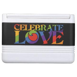Celebrate Love custom cooler Igloo Cooler