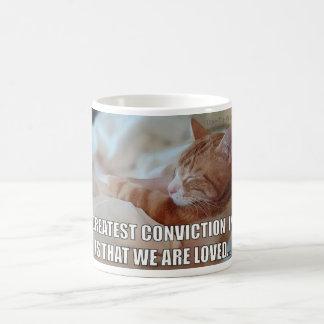 Celebrate LOVE - Greatest Conviction is Love mug