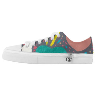 Celebrate Love Low Tops Printed Shoes