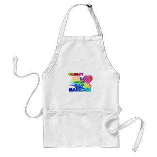 Celebrate Love-Support Gay Marriage Standard Apron