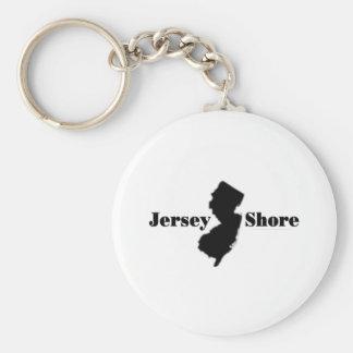 Celebrate New Jersey Basic Round Button Key Ring