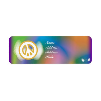 Celebrate New Year Mail Address Label-Customize