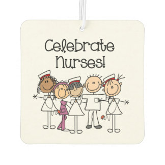 Celebrate Nurses Air Freshner Car Air Freshener