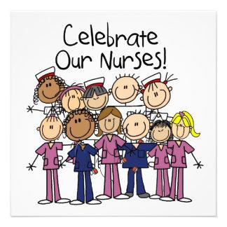 Celebrate Our Nurses Personalized Invitations