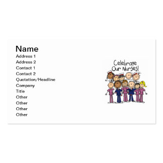 Celebrate Our Nurses Pack Of Standard Business Cards