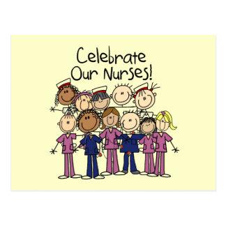 Celebrate Our Nurses Postcard