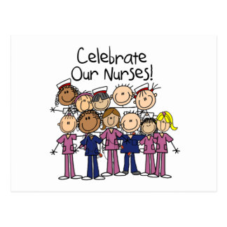 Celebrate Our Nurses Postcard