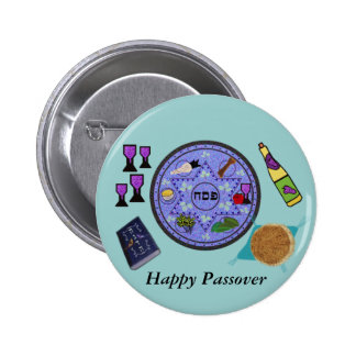 Celebrate Passover 6 Cm Round Badge