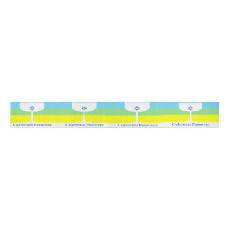 Celebrate Passover Cup Grosgrain Ribbon