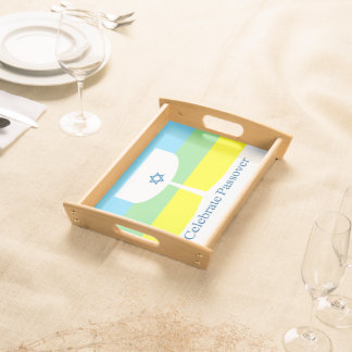 Celebrate Passover Cup Service Trays