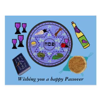 Celebrate Passover Postcard