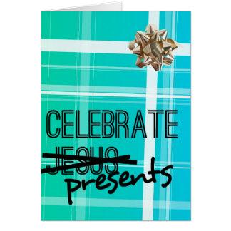 Celebrate Presents Greeting Card