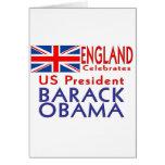 CELEBRATE President Obama Inauguration Keepsake Greeting Cards