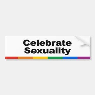 Celebrate Sexuality Bumper Sticker