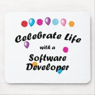Celebrate Software Developer Mouse Pads