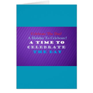 Celebrate The Day Note Cards