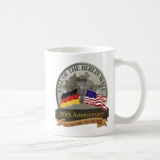 Celebrate the Fall of the Wall Classic White Coffee Mug