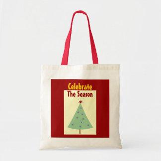 Celebrate The Season Holiday Tote Bag