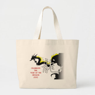Celebrate The Year Of The Dragon 2012 Jumbo Tote Bag