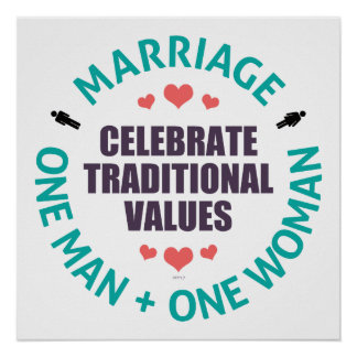 Celebrate Traditional Values Print