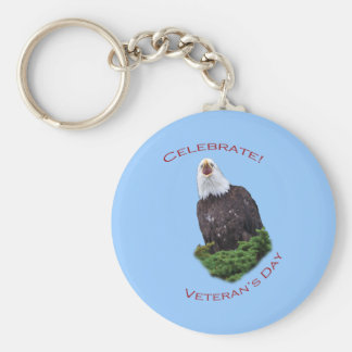 Celebrate Veteran's Day Keychain