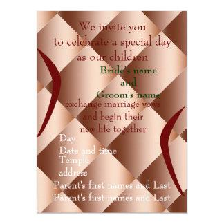 Celebrate with Us 17 Cm X 22 Cm Invitation Card