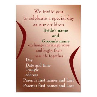 Celebrate with Us 6.5x8.75 Paper Invitation Card
