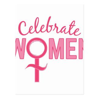 Celebrate Women Postcard