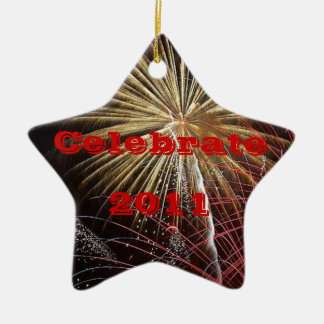 Celebrate - Year Customizable Christmas Ornament