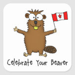 Celebrate Your Beaver Stickers